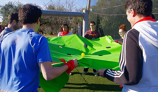 La bola y la manta | Team Building